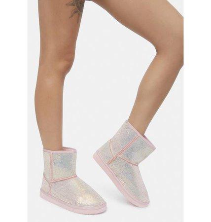 Shining Steps Boots   Dolls Kill