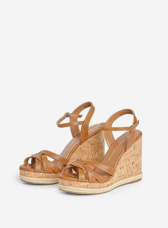 Tan 'Rhoda' Dressy Wedges | Dorothy Perkins