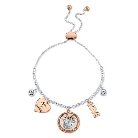 Minnie Mouse Icon Bolo Charm Bracelet | shopDisney