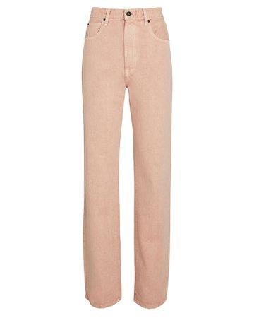 SLVRLAKE London High-Rise Straight-Leg Jeans | INTERMIX®