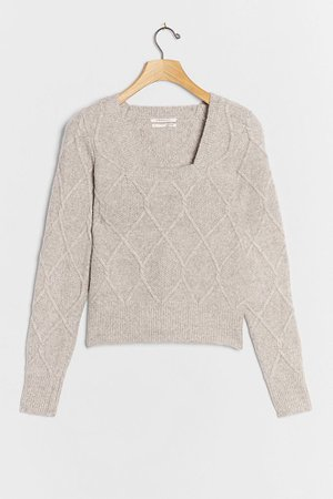 Rosaline Textured Sweater | Anthropologie