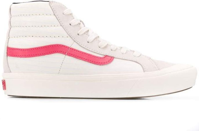 logo hi-top sneakers