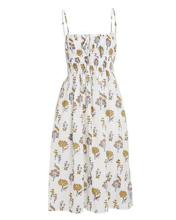 Ciao Lucia Gabriela Floral Midi Dress   INTERMIX®
