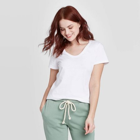 Women's Short Sleeve V-Neck T-Shirt - Universal Thread™ : Target