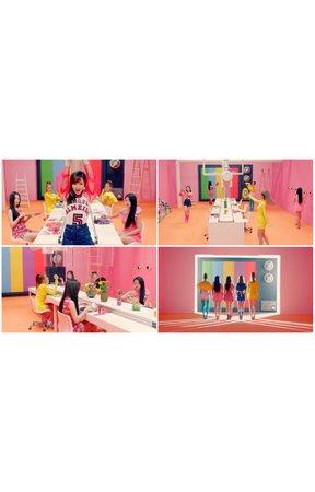 MARIONETTE Pepsi 'HAPPINESS' Music Video Scenes