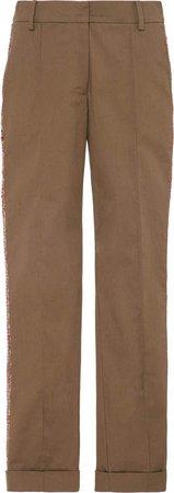 Cropped Galit Cotton Pants