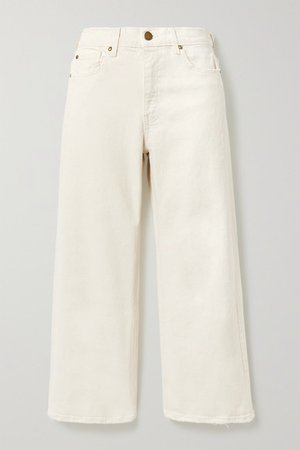 The Great | The Rider high-rise wide-leg jeans | NET-A-PORTER.COM