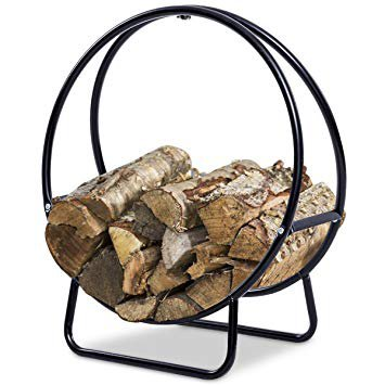 basket for wood for fireplace - Google Search