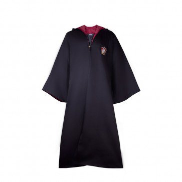 Harry Potter Robe Official Wizard Robe Cloak - Gryffindor | Costume Party World