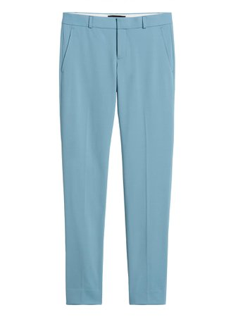 Ryan Slim Straight-Fit Washable Wool-Blend Pant | Banana Republic