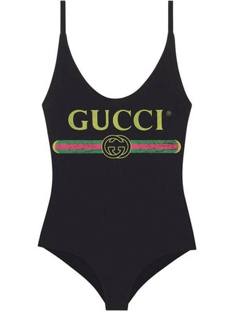 Gucci Traje De Baño Con Logo Gucci - Farfetch