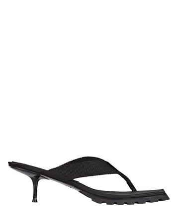 Alexander Wang Jessie Lug Sole Thong Sandals | INTERMIX®