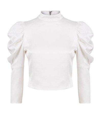 alice olivia brenna blouse