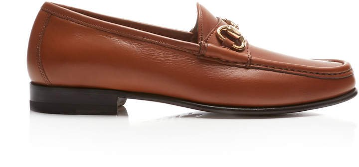 Moc Ischia Leather Loafers