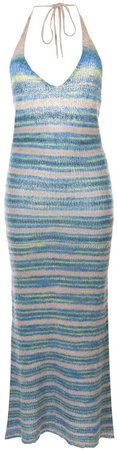 La Robe Tropea long knitted dress