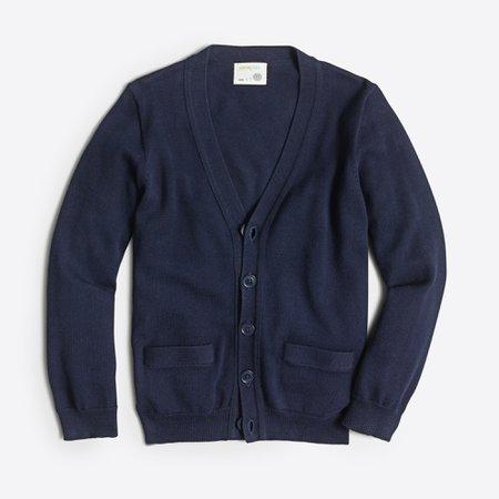 J.Crew Factory: Boys' Cotton Cardigan Sweater