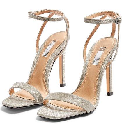 Topshop Saskia Ankle Strap Sandal (Women) | Nordstrom