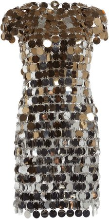 Paco Rabanne Sequined Mini Dresses