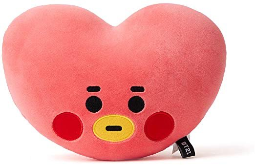 BT21 Official Merchandise by Line Friends - TATA Character Baby Face Flat Cushion