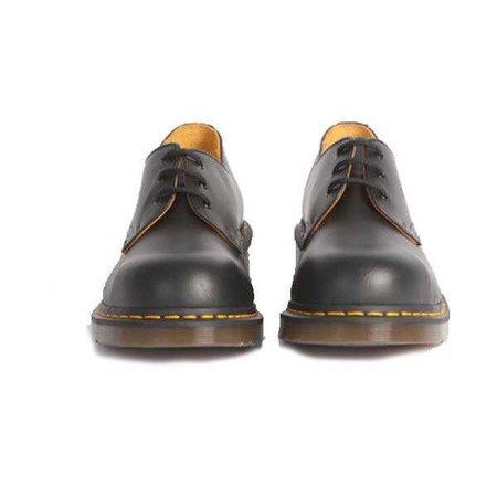 Dr. Marten 1925 5400 Shoe BLACK FINE HAIRCELL