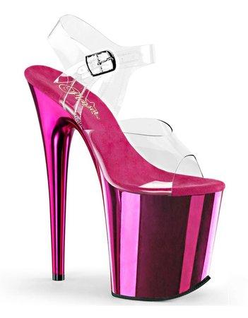 Pleasure Heels 808 Flamingo