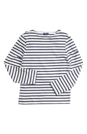 Saint James Minquiers Moderne Striped Sailor Shirt (Unisex) | Nordstrom