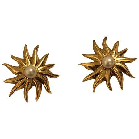 Earrings Chanel Gold in Metal - 6360510