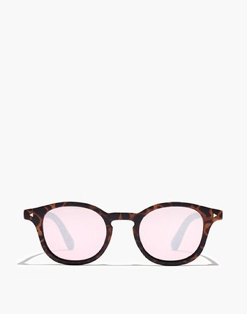 Recycled Keyhole Sunglasses brown