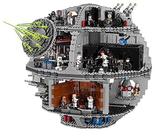 Amazon.com: LEGO Star Wars Death Star 75159 Space Station Building Kit with Star Wars Minifigures for Kids and Adults (4016 Pieces) : Toys & Games