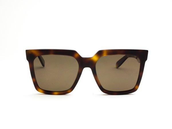 Celine | 40055I 53B SHINY HAVANA/BROWN POL » Sunglass Style