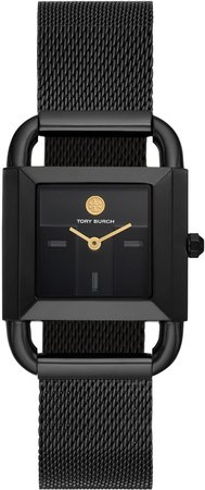 Phipps Watch, Black-Tone Stainless Steel/Black, 24 MM