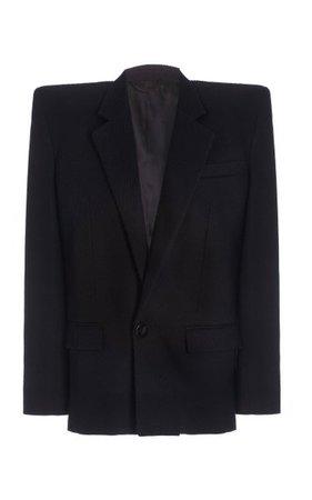 Oversized Crepe Blazer By The Attico | Moda Operandi