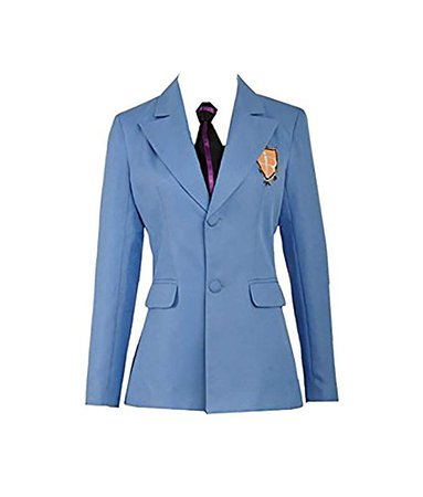 Amazon.com: Cos-Love Ouran High School Host Club Adult Uniform Blazer and Tie,Anime Fujioka Haruhi Cosplay Costume Halloween (in Stock): Clothing