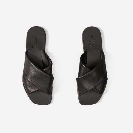 Women's Day Crossover Sandal   Everlane black