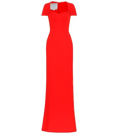 Rose stretch cady gown