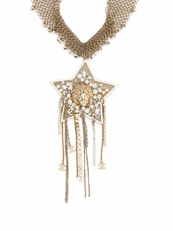 Chanel Pre-Owned 1990s Star Pendant Necklace - Farfetch