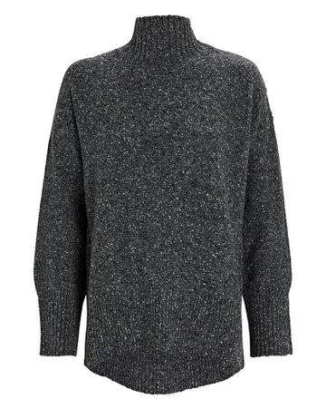 FRAME High-Low Turtleneck Sweater | INTERMIX®
