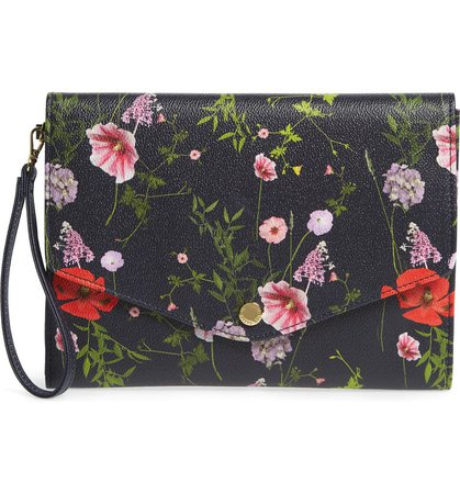Ted Baker London Gaia Hedgerow Envelope Pouch | Nordstrom