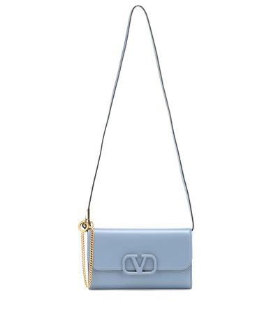 Valentino Garavani - Clutch Vsling In Pelle - Valentino | Mytheresa