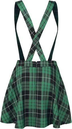 Slytherin skirt overall