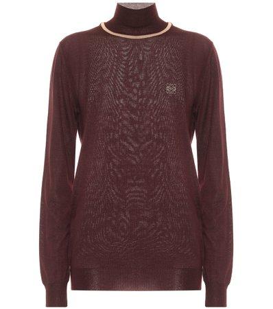 Cashmere Turtleneck Sweater | Loewe - Mytheresa