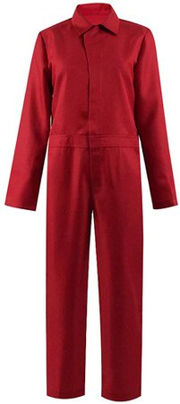 Amazon.com: Adult&Kids Red Family Jumpsuit Outfit Horror Movie US Uniform Costume for Christmas (12, Kids Suit): Clothing