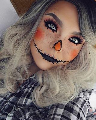 scarecrow makeup - Google Search