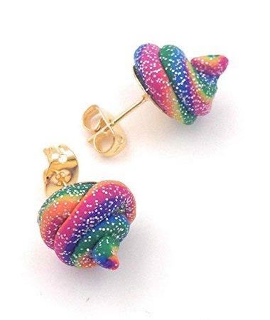rainbow earrings - Google Search