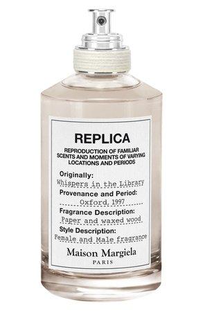 Maison Margiela Replica Whispers in the Library Eau de Toilette | Nordstrom