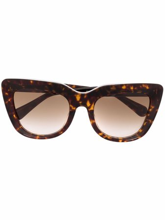 Stella McCartney Eyewear Oversized Frame Sunglasses - Farfetch