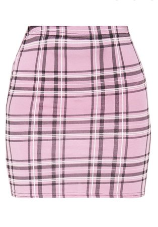 prepped pink skirt