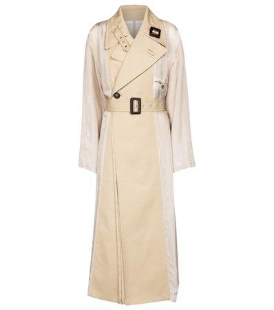 Maison Margiela - Double-breasted trench coat   Mytheresa