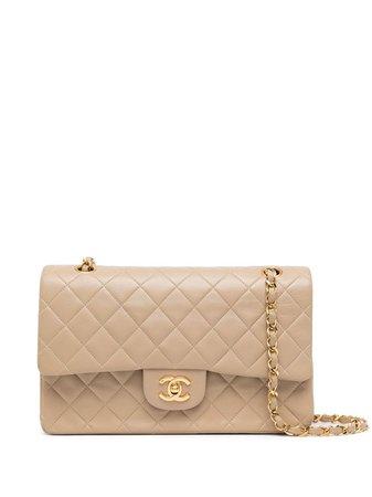 Chanel Pre-Owned 1990 medium Double Flap shoulder bag - FARFETCH