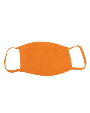 Cotton Face Mask, Orange – The Giant Peach